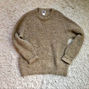Vintage Woolrich 100% Wool Thick Pebbled Sweater